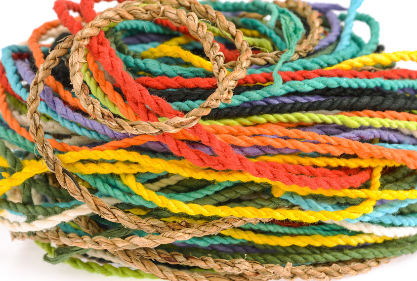 Do It Yourself Home Design: How To Dye Jute Rope