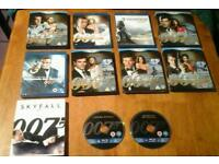 James Bond Blu-ray Discs for sale - individually or as one lot