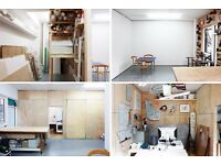 Artist's studio to rent good natural light, shared workshop area Brixton / Stockwell SW9