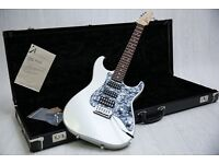 IMMACULATE! USA Tom Anderson Classic Strat Inca Silver & Original Hard Case