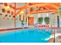 Exceptional chalet with a large swimming pool- Switzerland- Valais