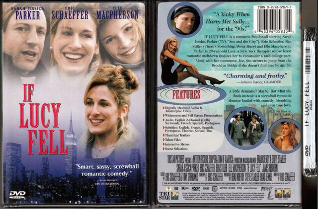 DVD Sarah Jessica Parker IF LUCY FELL Elle Macpherson RomCom WS+FS SE R1 OOP NEW