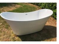 Double ended slipper bath rrp 1650