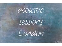 Seeking Vocalists and Guitarists both Male and Female for Acoustic Sessions (New YouTube Channel)