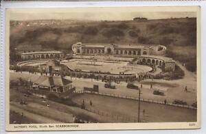 w14r5-354-Bathing-Pool-North-Bay-SCARBOROUGH-c1920-Unused-VG