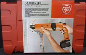 Fein Cordless Dry Wall Screw Driver. Dandenong Greater Dandenong Preview