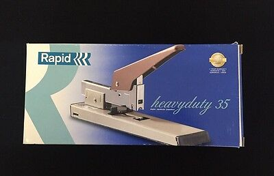Rapid 35 Beige Heavy Duty Metal Commercial Stapler 100 Sheet Easy Load