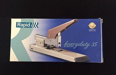 Rapid 35 Beige Heavy Duty Metal Commercial Stapler 100 Sheet Easy Load