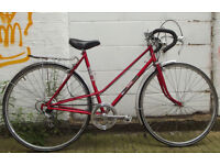 Vintage ladies bike MUSTANG frame 20in serviced & warranty - welcome for test ride & cup of tea