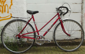 Vintage ladies racing bike MUSTANG size frame 20 serviced ready to go - Welcome for test ride
