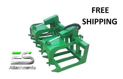 Es 66 Grapple- New John Deere Quick Attach Tractor Loader - Free Shipping
