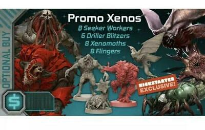 NIB Zombicide Invader Promo Xenos Pack S10 kickstarter exclusive board game CMON