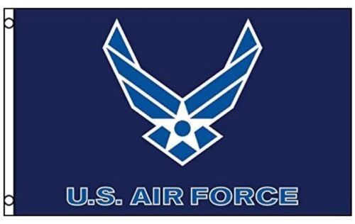 us air force flag new style wings