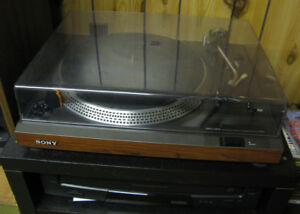 Vintage Stereo System Components: Sony, Sansui, Zenith