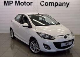 2011 11 MAZDA 2 1.5 SPORT 5D 101 BHP SPORTY HATCH, WHITE, 45-000M SH + BILLS,