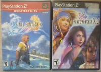 Final Fantasy X and Final Fantasy X-2