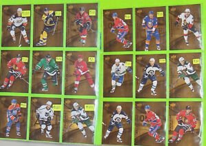 Pure Gold Hockey Cards for Sale TIM HORTONS 2016/2017 Upper Deck Belleville Belleville Area image 4