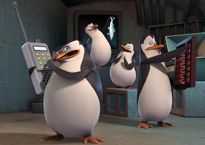 Skipper, Kowalski und Co - die Pinguine aus Madagascar auf eigenen DVDs