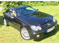 Mercedes-Benz CLK220 2.2CDI (150)**Avantgarde Diesel Coupe**2Owners,8Stamps!**