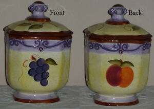 Round Fat Cookie / Candy / Sugar / Coffee Canister Cambridge Kitchener Area image 1