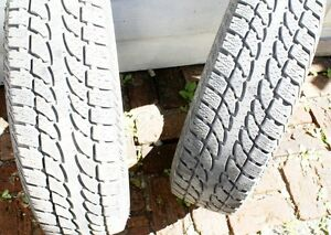 Set of THREE  All Season M&S 15 inch tires Comox / Courtenay / Cumberland Comox Valley Area image 2