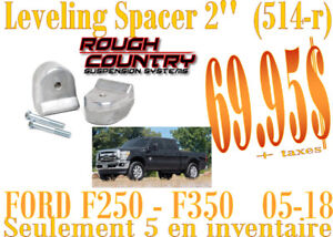 SPÉCIAL-RC Leveling Coil Spacers 2'' Ford F250-F350 05-18 (514R)
