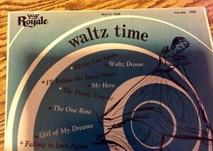 VINTAGE 33RPM VINYL. ROYALE WALTZ ORCHESTRA. RECORDED IN EUROPE Gatineau Ottawa / Gatineau Area image 3