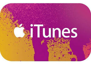 iTunes gift card $70