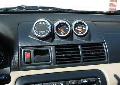 Fits Honda Prelude 3 Gauge Vent Pod 1997 - 2000 Gauge Pod gauge (Honda Prelude Vent)