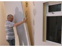 X1 insulated plaster board,new!