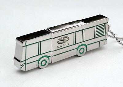 SOLARIS Busse - Pressemappe verchromter Metall USB-Stick 8GB Form eines Urbino
