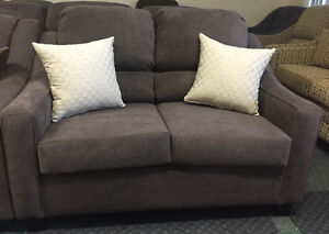 NEW Beautiful 2 Piece Sofa Set Made In Canada