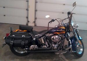 2012 Harley Davidson Heritage Softail with VERY LOW KMs