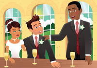Are you a best man in a wedding and terrified of public speaking