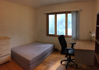 Main Floor Furnished Bedroom for Rent in Banff Trail