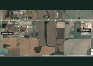 UNRESERVED AUCTION - UNDEVELOPED IDUSTRIAL LOT - GRANDE PRAIRIE