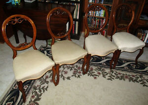 Antique Balloon Back Chairs  c.1860
