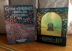 90$ Game of thrones 1 à 5 / Trone de fer DVD BLU-RAY