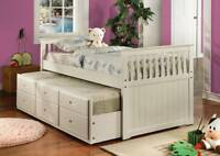 Low Price - Trundle Bed,Kids Bed,Drawers Bed ST