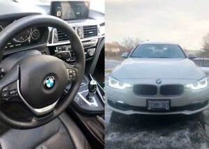 2018 BMW330i Xdrive lease take over 599.99/month