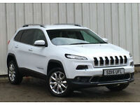 Jeep Cherokee 2.0CRD ( 170ps ) ( 4WD ) ( s/s ) Auto 2015MY Limited Finance
