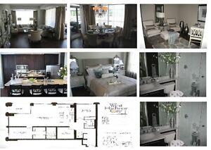 """Luxury 2 Bedrooms Plus Den/3rd Bedroom Condo """"Downtown Toronto"""""""