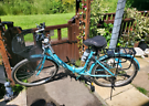 Ladies Folding Bike With Lots Of New Accessories