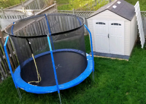 One year old trampoline - Pending Pick Up
