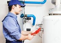 Water softener installation, repair, or removal.
