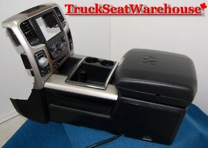 Dodge Ram Laramie 2013 Center Floor Console 1500 2500 Truck