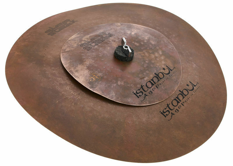 Istanbul Agop 9'' & 17'' Clap Stack Cymbal Set ICSFXE