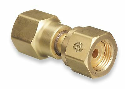 Western 806 Cylinder Adaptor Cga-320 To Cga-580 - Co2 Tank To Argon Regulator