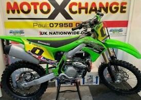 2020 KAWASAKI KXF 450....LOW HOURS USE.....£5695....MOTO X CHANGE
