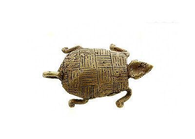Pendant African Ashanti Tribale Turtle Door Keys Bronze 5125